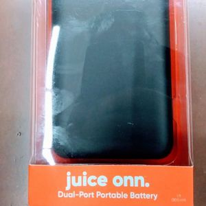 BRAND NEW! SEALED! JUiCE ONN DUAL-USB! Battery Pack Power Bank PORTABLE Phone/Tablet/MP3 CHARGER! 20,000mAh! 6+ Charges! iPhone iPad Apple Android for Sale in Gilbert, AZ
