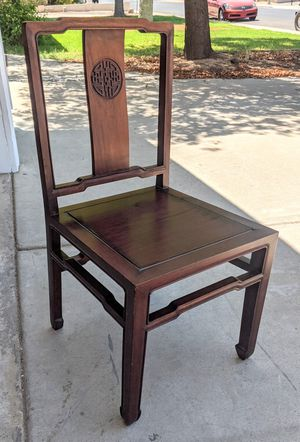 Antique Cathay Pacific Arts Co Wooden Chair for Sale in Mesa, AZ