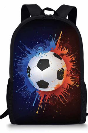Sport Soccer Football Backpacks plus lunchbag School Bookbag Shoulder Zipper Backpack Hiking Travel Daypack Casual Bags etc LIKE NEW OPEN BOX for Sale in Los Angeles, CA