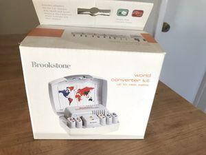 Brookstone world converter kit new for Sale in Lemon Grove, CA