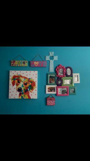 Wall decor 4 kids room for Sale in Chula Vista, CA
