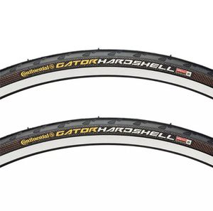 Continental Gatorskin Hardshell road bike tires x2. (27x1-1/4) for Sale in Baltimore, MD