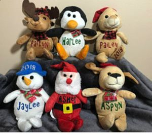CHRISTMAS STUFFED ANIMALS for Sale in Caldwell, ID