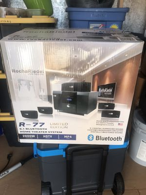 R-77 Limited Edition 5.1 Bluetooth Home Theater System for Sale in Rialto, CA