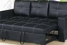New✅•Black Convertible Sofa• Free Financing ✔️• No interest for 90 days‼️• We deliver and Set Up 🚚📦 for Sale in Las Vegas,  NV