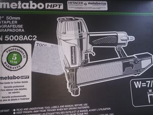 """Metabo hpt 2"""" 50mm stapler for Sale in Modesto, CA"""