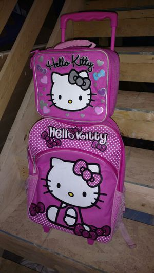Hello Kitty Book bag & lunch box for Sale in Hookstown, PA