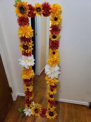 Custom Sunflower mirror for Sale in Wichita, KS