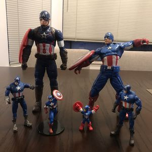 Bundles of captain America toys for Sale in Brisbane, CA