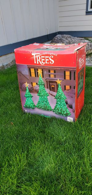3 Decorating Christmas trees for Sale in Tacoma, WA