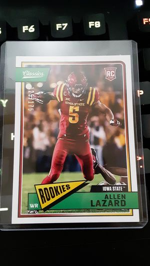 Allen Lazard rookie card blue back 125/175 for Sale in Payson, AZ