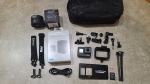 GoPro hero 7 black with accessories kit, spare battery and charger for Sale in Lacey, WA