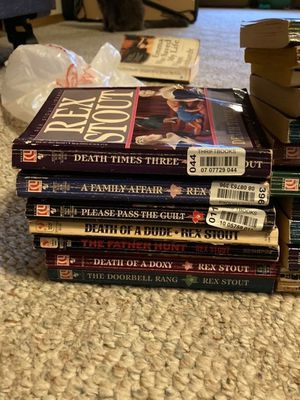 Rex Stout Nero Wolfe Series for Sale in Buckley, WA