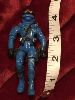 G.I. Joe blue soldier figurine action figure vintage collector toy for Sale in Phoenix, AZ