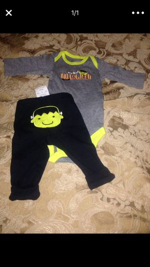 Halloween costume newborn set brand new with tag carters. for Sale in Nashville, TN