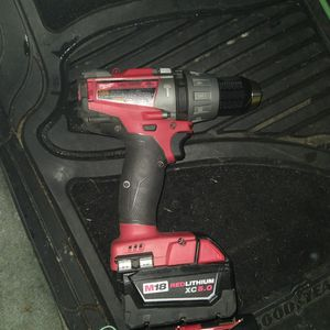 M18 Fuel 1/2 Hammer Drill W/ 5ah for Sale in Joint Base Lewis-McChord, WA