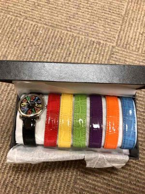 Gossip Ladies Watch with six color bands for Sale in Livonia, MI