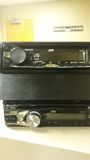 For sale 2 jvc radios aux ready everything works on them for Sale in Montgomery, AL