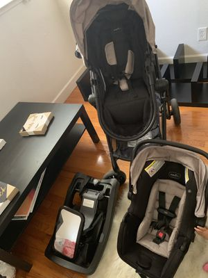 Evenflo car seat & stroller set for Sale in Sacramento, CA