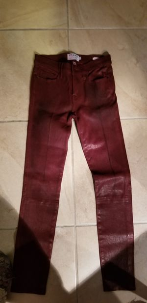 Women's 100% lamb leather pants for Sale in West Palm Beach, FL