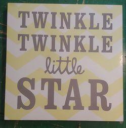 Twinkle Twinkle Sign for Sale in Nolensville,  TN