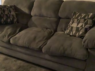 Couch - Grey 3 Cushion 7.5 Ft Long for Sale in Miami,  FL