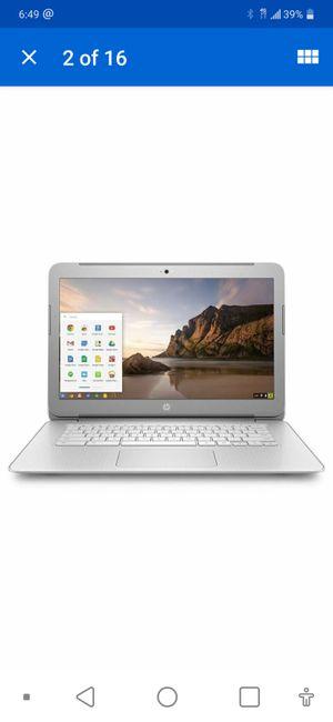 HP Chromebook 14 Laptop Intel 1.4 GHz 4 Memory 16 SSD Bluetooth Wifi HDMI Webcam for Sale in Dearborn, MI