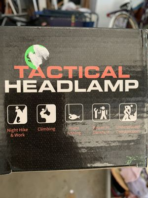 Tactical headlamp price drop obo for Sale in Byron Center, MI