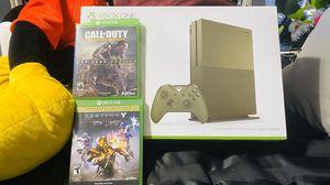 Xbox one s bundle 1TB for Sale in Phoenix, AZ