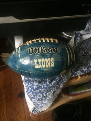 Wilson Detroit Lions Football for Sale in Takoma Park, MD