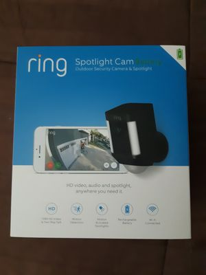 Ring Spotlight security camera Cam BRAND NEW SEALED for Sale in Gilbert, AZ