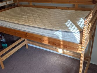 Loft Bed With Twin Mattress for Sale in Tacoma,  WA