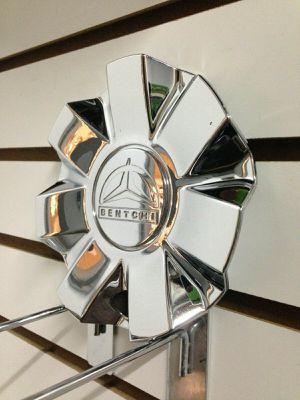 Bentchi Wheels Chrome Wheel Center Cap CSB7-2P Used Rim Middle Hubcap Cover for Sale in Phoenix, AZ