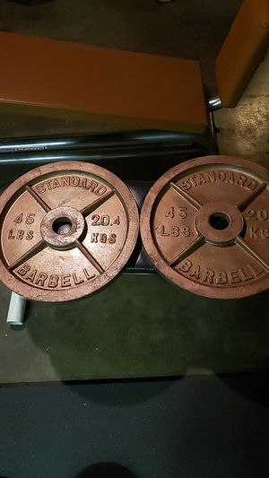45lb Olympic Weight Plates for Sale in City of Industry, CA