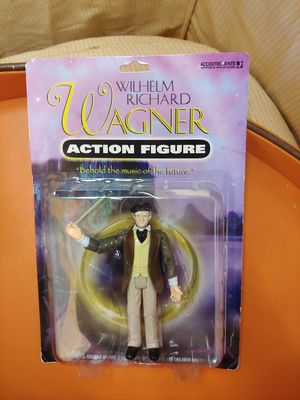 Wilhelm Richard Wagner Action Figure for Sale in Puyallup, WA