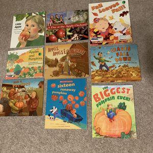 Thanksgiving/Fall books For Kids for Sale in Chesapeake, VA