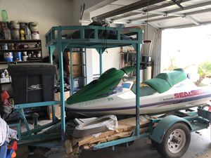 1996 Sea Doo Bombardier with trailer. for Sale in Fontana, CA