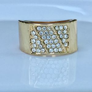 Gold plated ring band unisex men size 7 for Sale in Silver Spring, MD