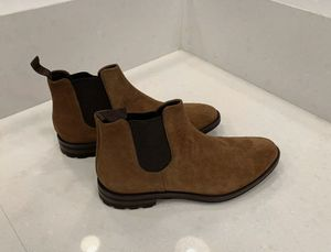 To Boot New York men's suede boots - NEW IN BOX - Bandon - dark Tan size 11 M for Sale in Rockville, MD