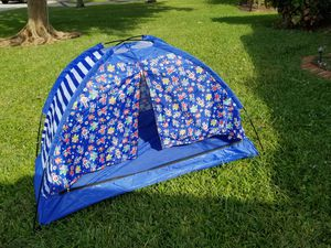 Tents Ninja Turtles tent & Camper tent Both fold easily for storage Easily pops up for instant fun!! for Sale in Lake Worth, FL
