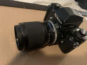 Mint film camera Nikon f3 w/ nikkor 35-105 mm for Sale in Boulder, CO