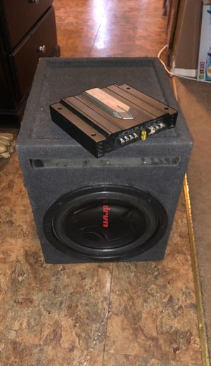 DRVN sub woofer and amp for Sale in Tijuana, MX