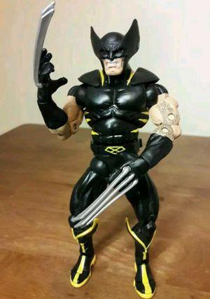 Wolverine X-Men Action Figure marvel comics legends toy black costume for Sale in Marietta, GA