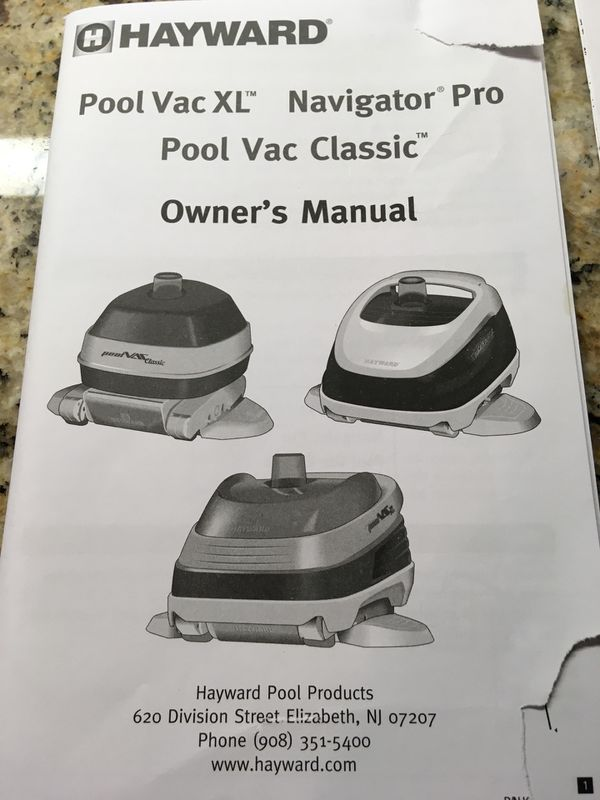 Navigator PRO Pool Bottom Cleaner for Sale in Palm Coast, FL - OfferUp