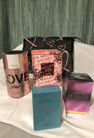 Victoria Secret parfumes free gift bag for Sale in Kansas City, KS