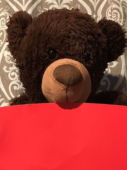 ♥️Brown Teddy Bear With Box♥️ for Sale in Fairview,  OR