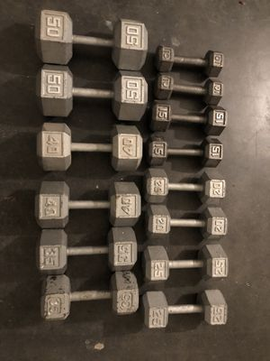Dumbbell sets!!! for Sale in Los Angeles, CA