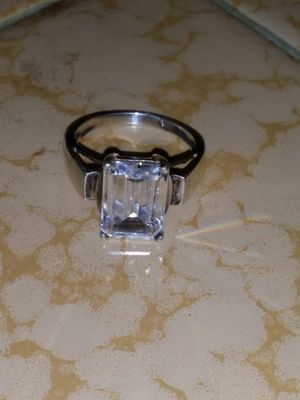 Sterling silver bling ring for Sale in Clovis, CA