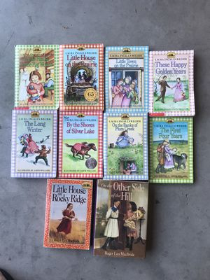 Little house on the prairie book lot bundle for Sale in Clovis, CA