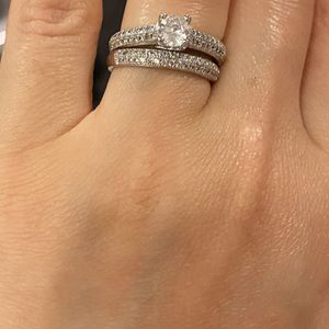 Stamped 925 Sterling Silver Ring set - Code MAS168 for Sale in Houston, TX